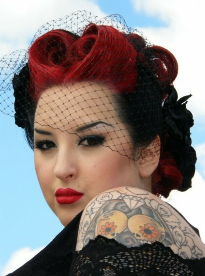 Rockabilly Frisuren Coole Ideen Retro Look