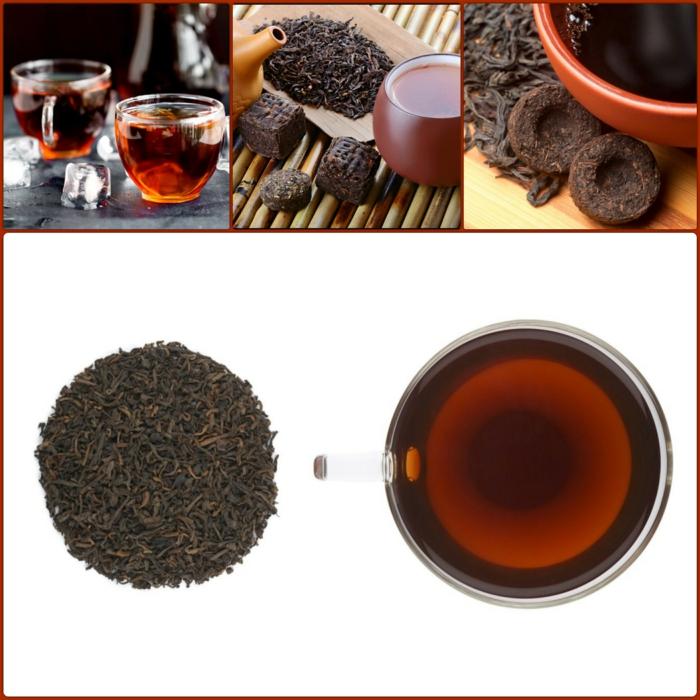 eine tasse roter tee die wirkung vom pu erh tee