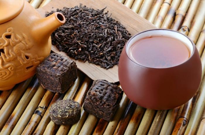 roter tee trinken pu erh tee wirkung chinesische tradition