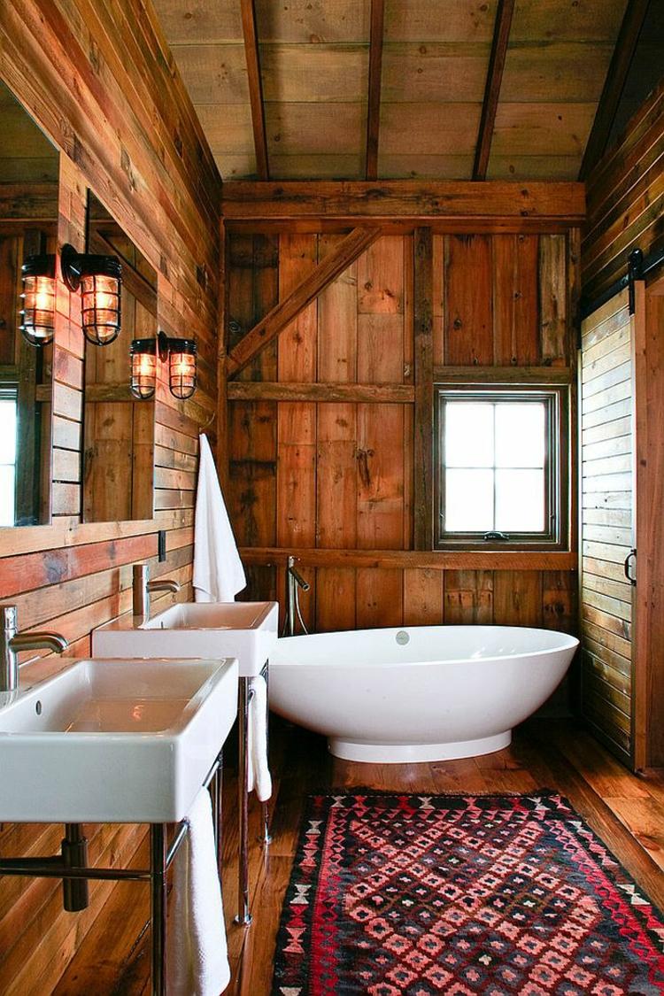 rustikale möbel badmöbel echtholz landhausstil