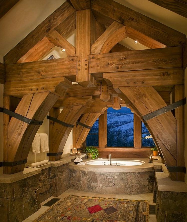 Rustikale Möbel: 50 Beispiele für moderne Badmöbel im Landhausstil