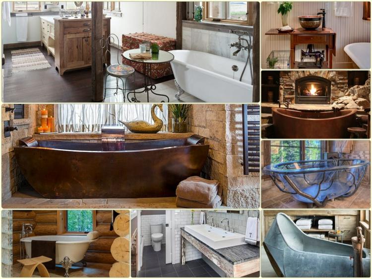 rustikale möbel badmöbel naturholz landhausstil