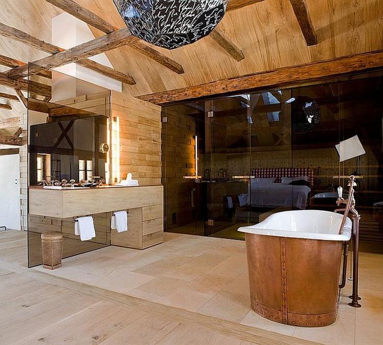 rustikale möbel badmöbel set echtholz