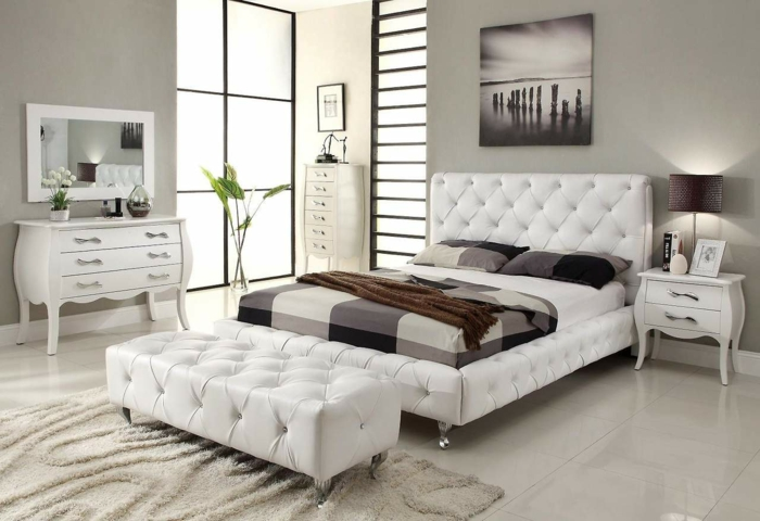 Dekoration für schlafzimmer  De.pumpink.com | Einrichtungsideen Wohnzimmer Grau Weiß