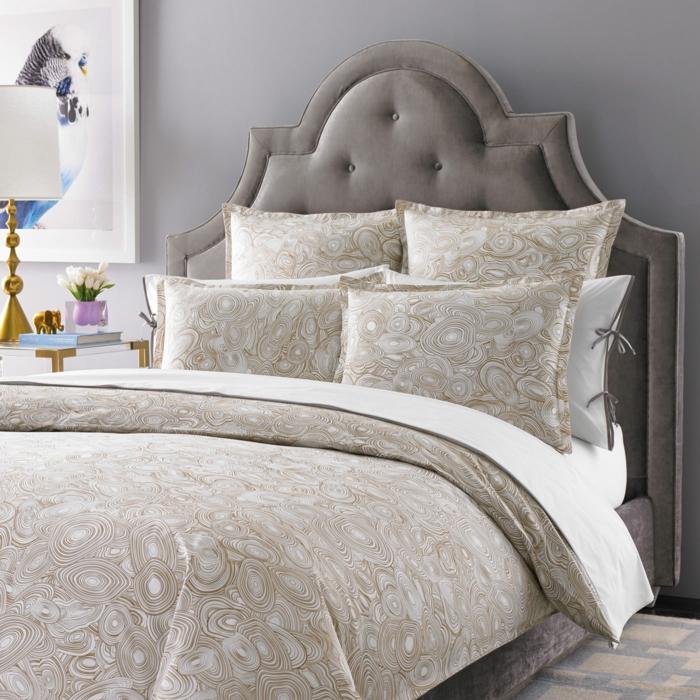 schlafzimmer dekorieren stilvolle bettwäsche akzente
