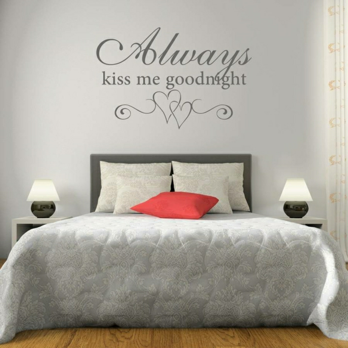 yarial.com = lila wand dekorieren ~ interessante ideen für die ... - Schlafzimmer Lila Wand