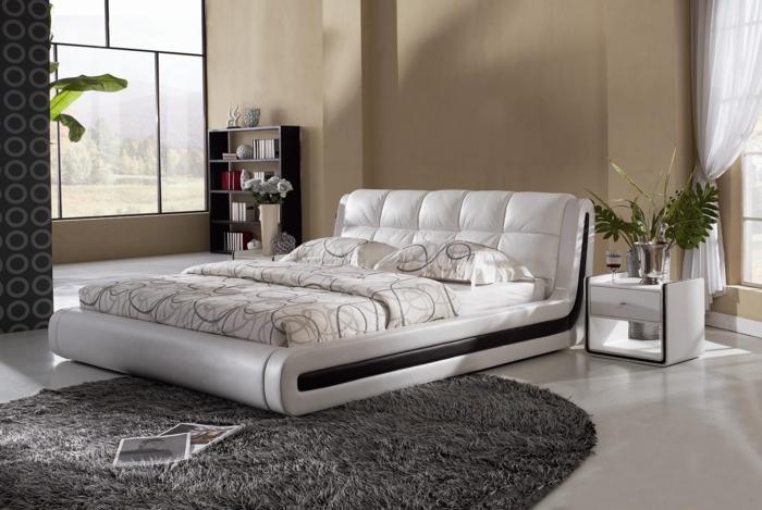 Großartige Schlafzimmereinrichtung vereinigt Komfort und Stil in Einem