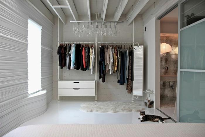 Das Schlafzimmer Gestalten Und Mehr Stauraum Schaffen Schlafzimmer Ohne Schrank Gestalten