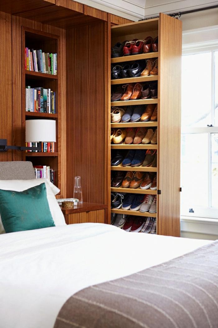 schlafzimmer gestalten mehr stauraum schaffen