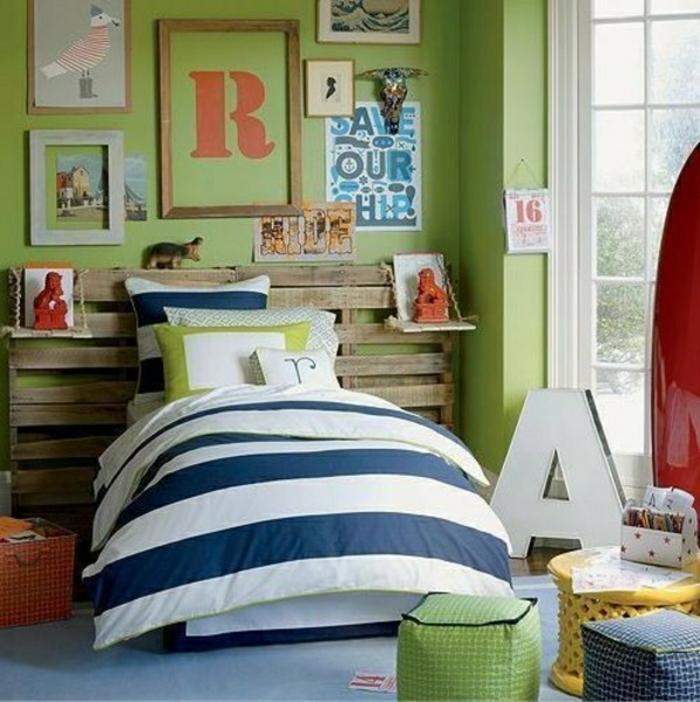 schlafzimmer möbel aus paletten selber bauen