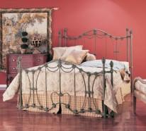 schmiedeeisen betten f r ein mediterranes flair im schlafzimmer. Black Bedroom Furniture Sets. Home Design Ideas