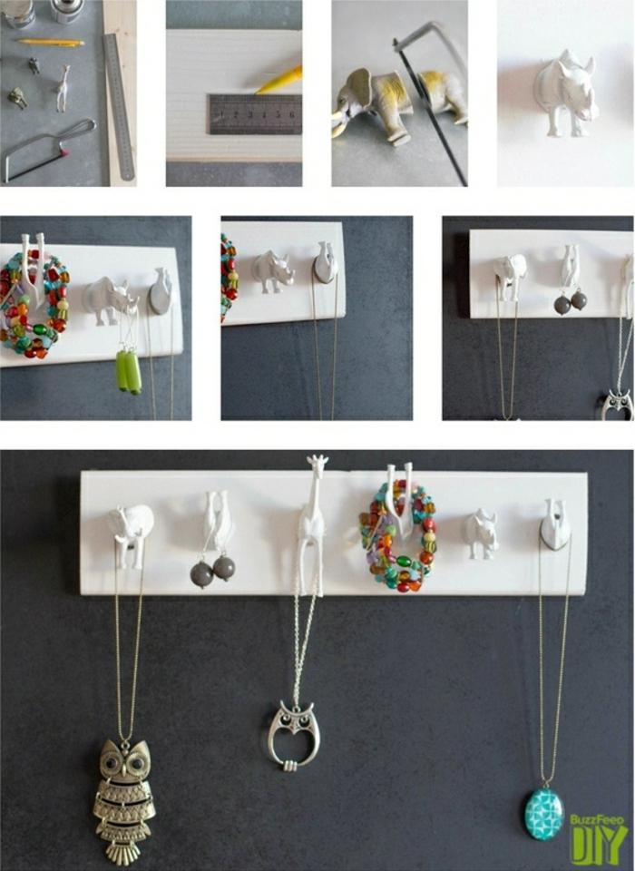 Tolle Ideen für DIY Schmuckständer