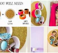 Wie Sie originelle Schmuckständer selber machen können