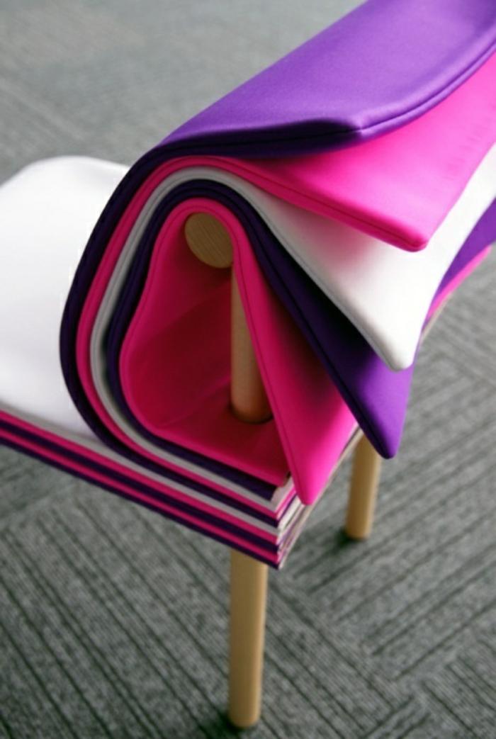 sitzmöbel ausgefallener stuhl farbig bequem