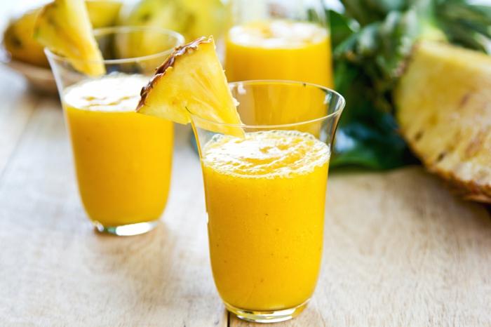 smoothie rezepte ananas gesund
