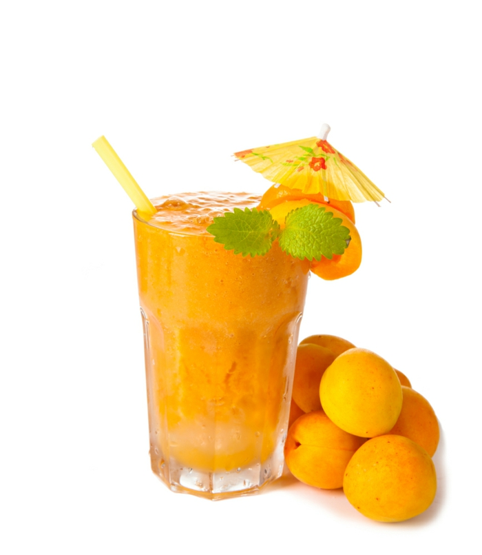 smoothie rezepte aprikosen gesund