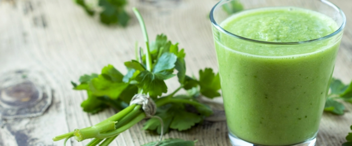 smoothie rezepte detox petersilie spinat brokkoli
