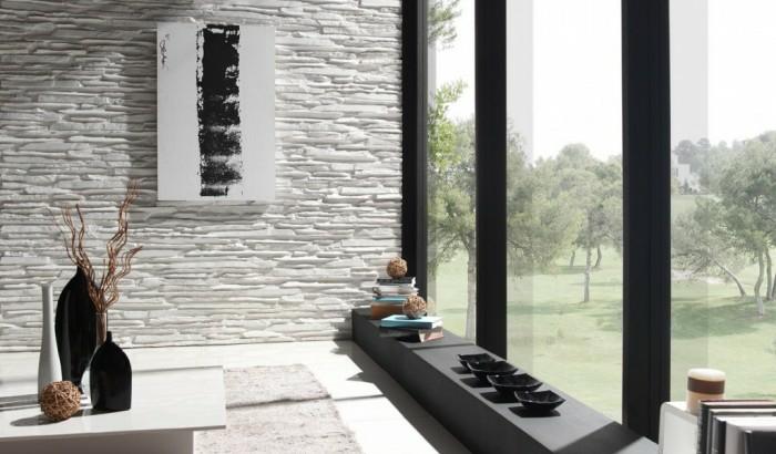 steinwand panelpiedra laja fina optik