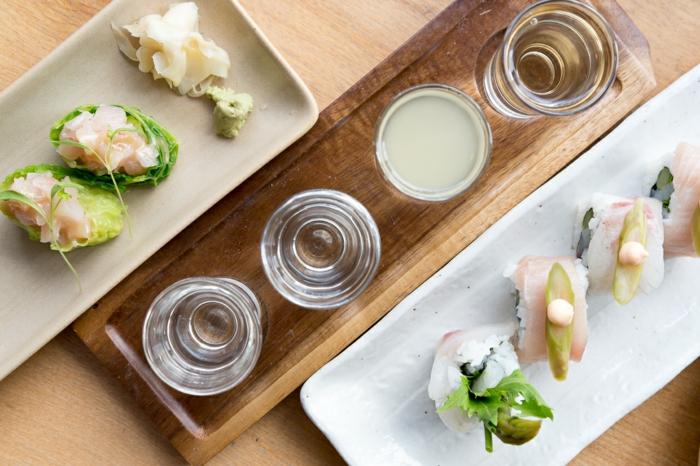sushi geshirr und sushi zubehör holz japanisches geschirr