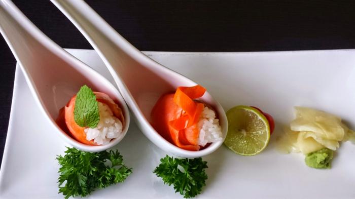 sushi geshirr und sushi zubehör porzellan löffel japanisches geschirr