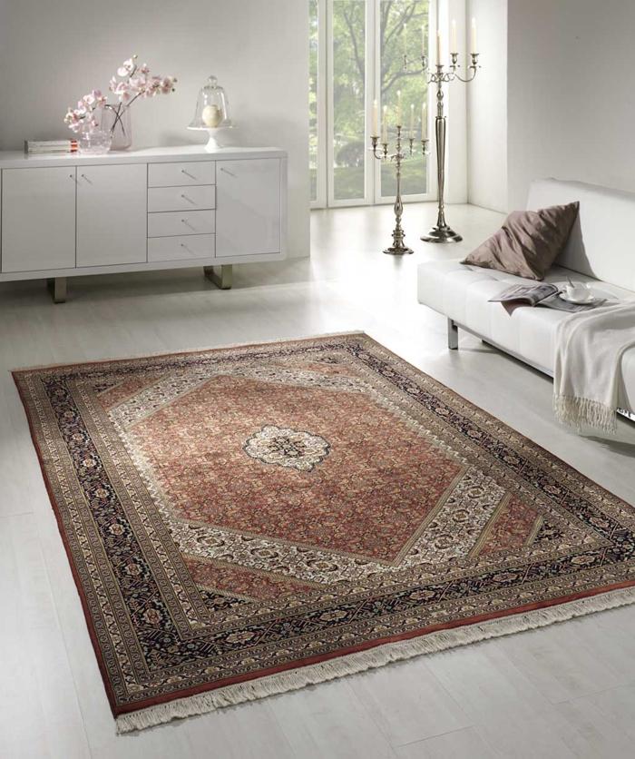 teppich reinigen wohnzimmer perserteppich schöne wohnideen