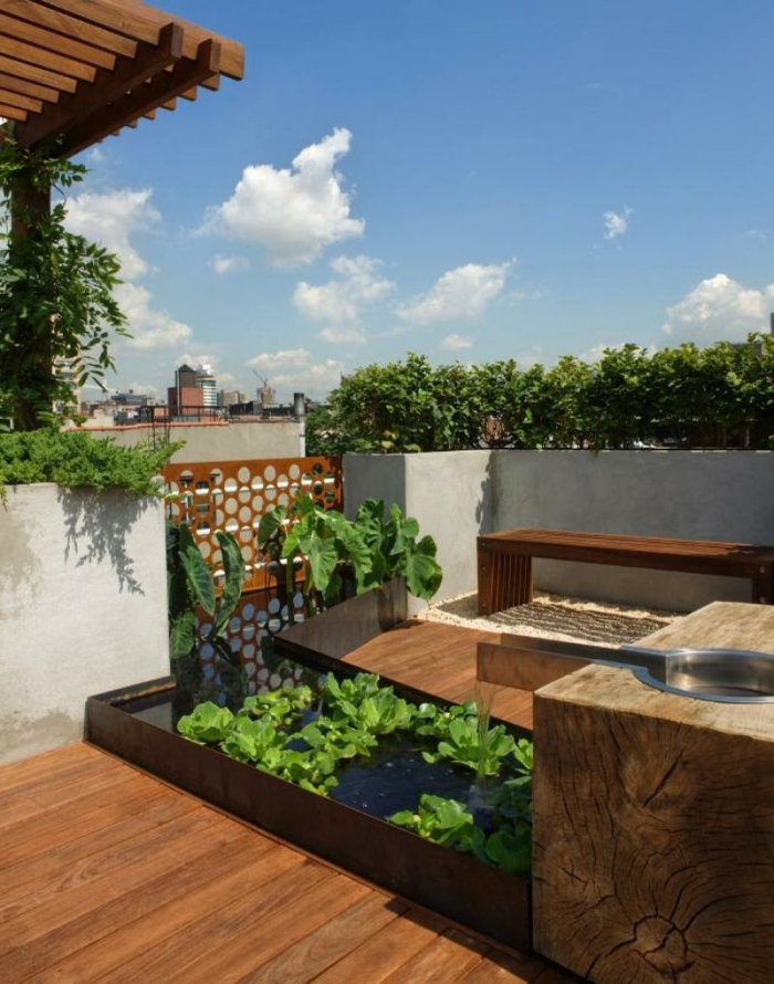 terrasse gestalten den au enbereich mit geschicklichkeit. Black Bedroom Furniture Sets. Home Design Ideas
