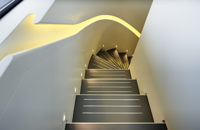 treppenbeleuchtung einbauleuchten attraktiv modern schön