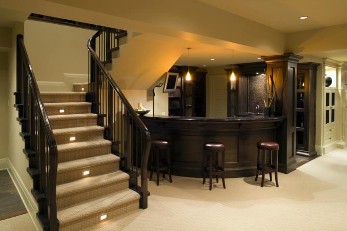 wundervolle treppenbeleuchtung magie und zauber ins zuhause bringen. Black Bedroom Furniture Sets. Home Design Ideas