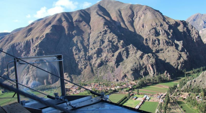 wilde abenteuer hotel skylodge bergpanorama