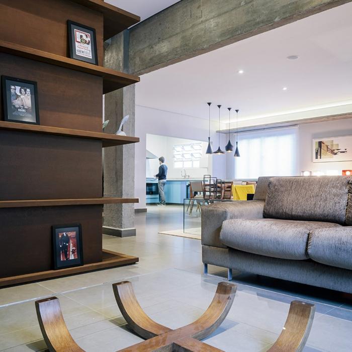 wohnung einrichten sch pfen sie ideen aus diesem projekt in brasilien. Black Bedroom Furniture Sets. Home Design Ideas