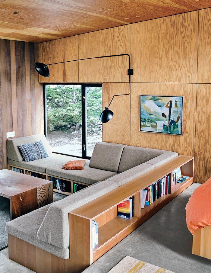 Wohnzimmer Einrichten Sofa Mit Stauraum