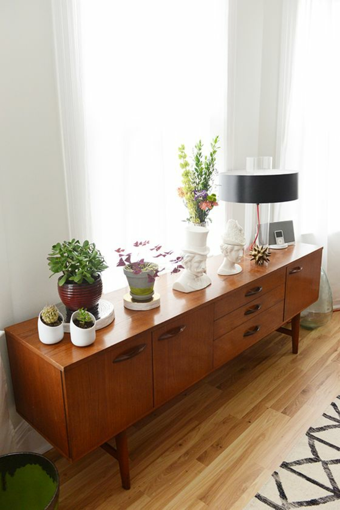 wohnzimmermöbel holz:wohnzimmermöbel holz anrichte mit vielen schubladen