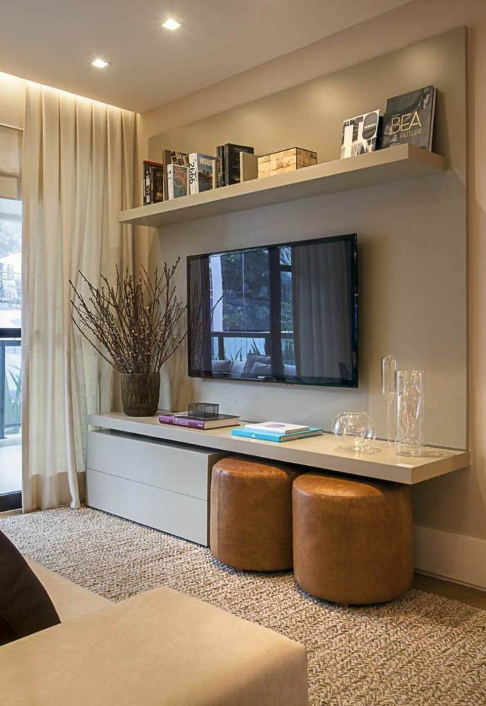 wohnzimmer einrichten wohnzimmermöbel regale wohnwand