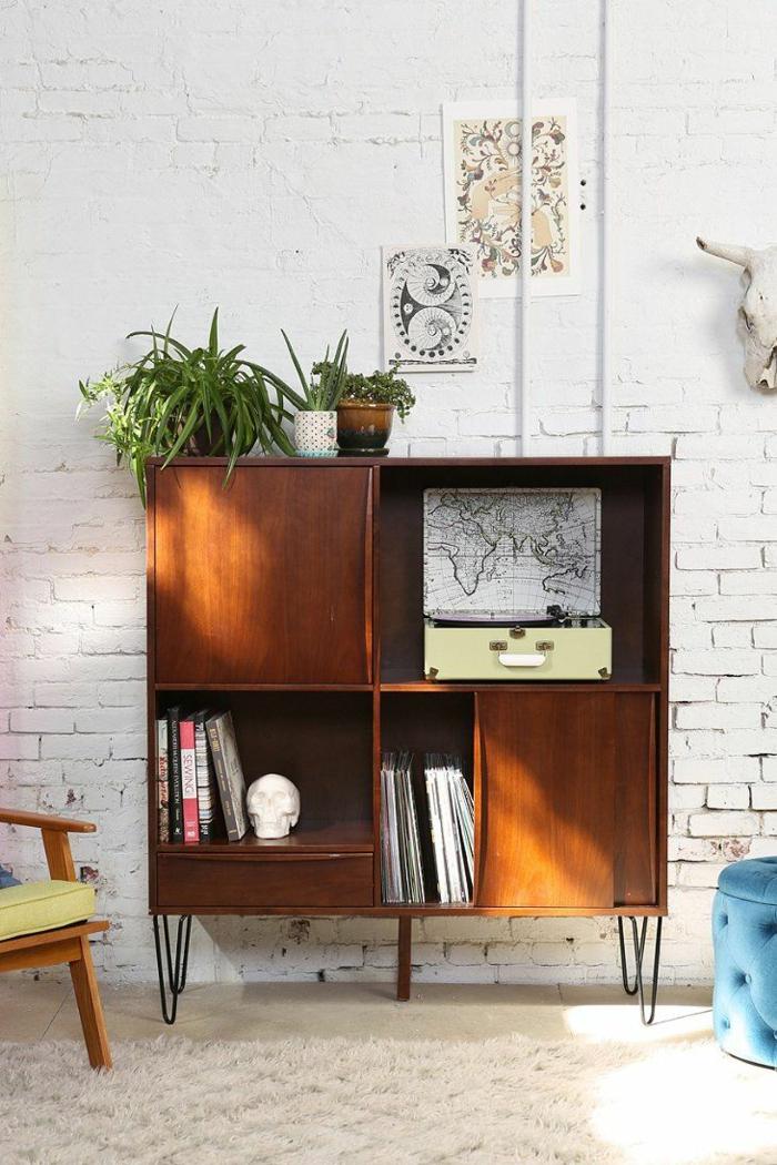wohnzimmermöbel vintage:wohnzimmer einrichten wohnzimmermöbel retro design