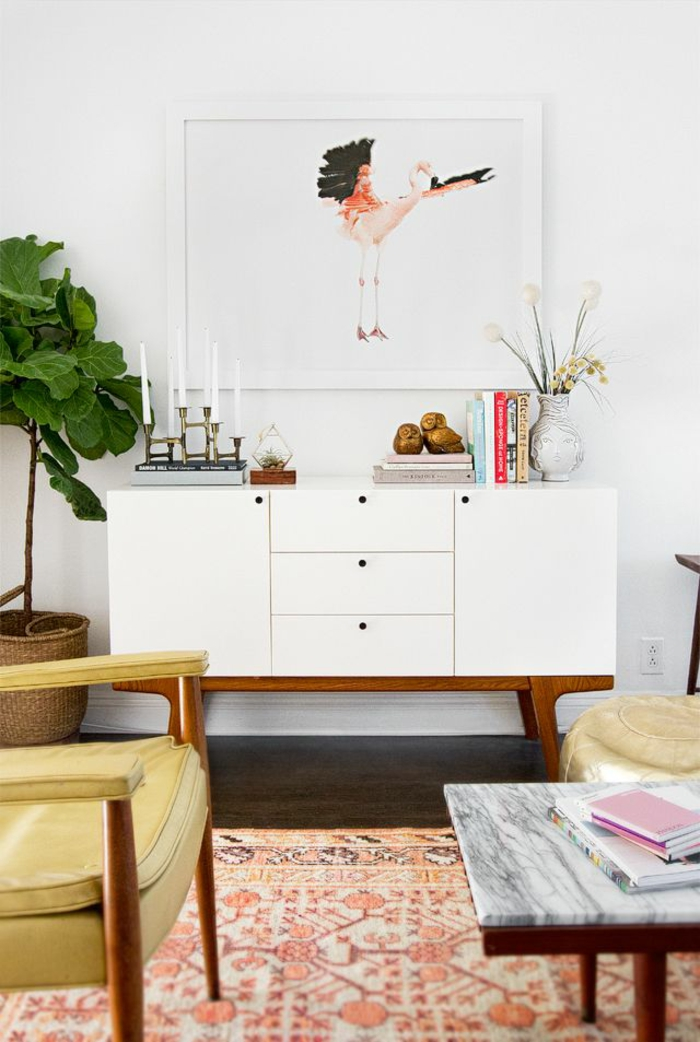 wohnzimmer einrichten wohnzimmermöbel skandinavischer stil praktisch