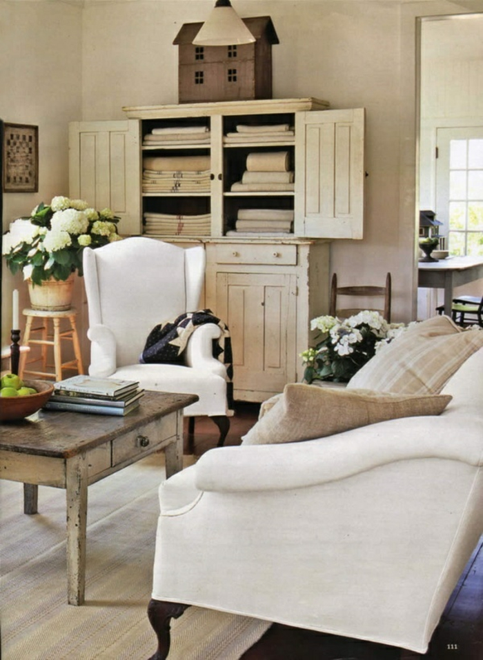wohnzimmer einrichten wohnzimmermöbel vintage kommode
