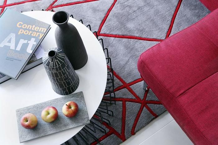 Wohnzimmer neu gestalten inspirierendes Beispiel aus