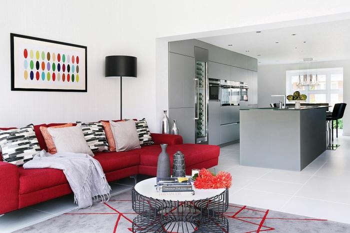 wohnzimmer neu gestalten: inspirierendes beispiel aus buckinghamshire, Wohnzimmer dekoo