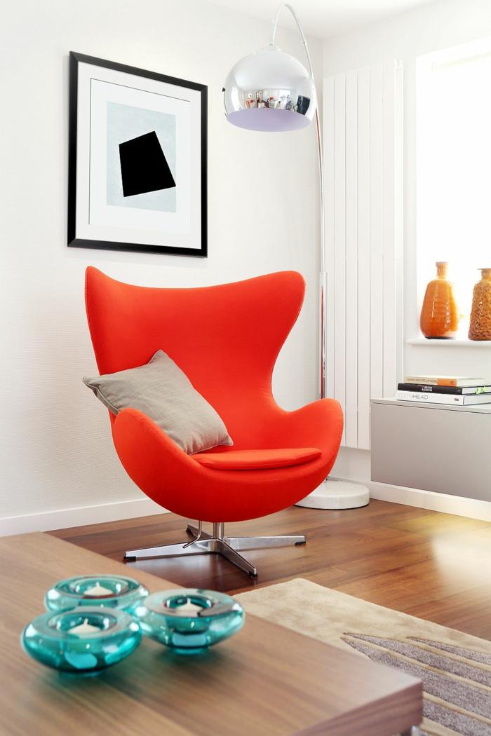 Wohnzimmer Neu Gestalten: Inspirierendes Beispiel Aus Buckinghamshire Wohnzimmer In Rot Gestaltet