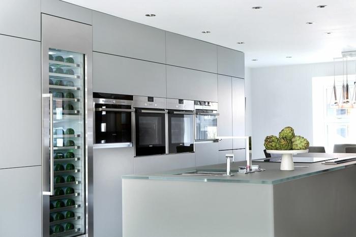 Moderne Wohnzimmer Mit Offener Küche | wotzc.com