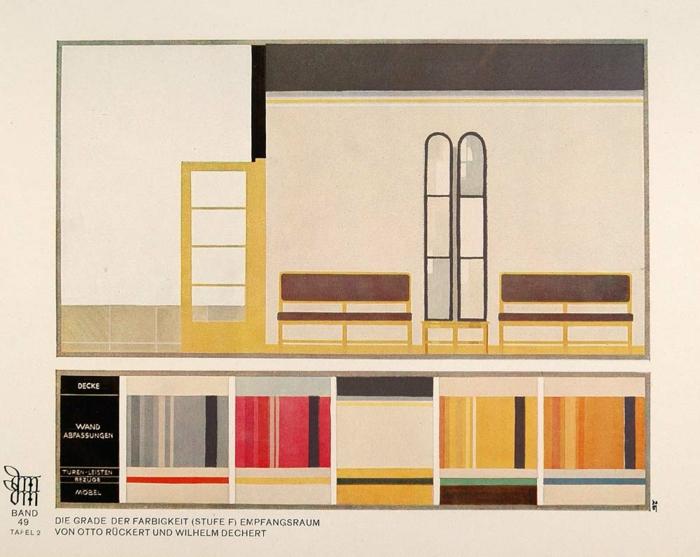 Art Deco Möbel entwurf