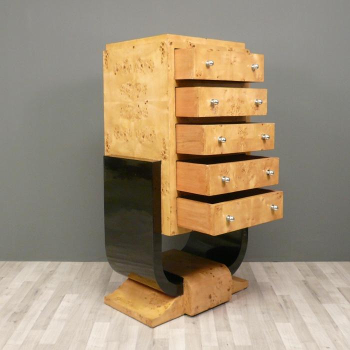 art deco m bel eine entscheidende desingwende. Black Bedroom Furniture Sets. Home Design Ideas
