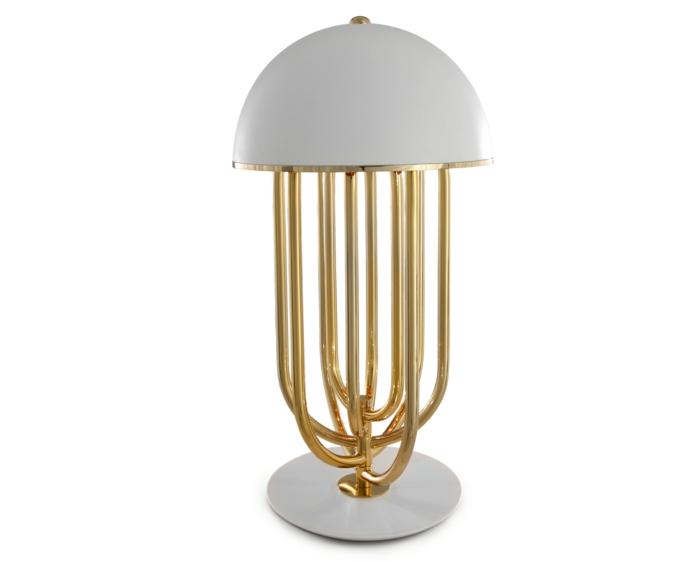 Art Deco Möbel lampe