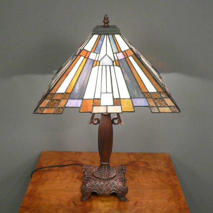 Art Deco Möbel tiffany lampe