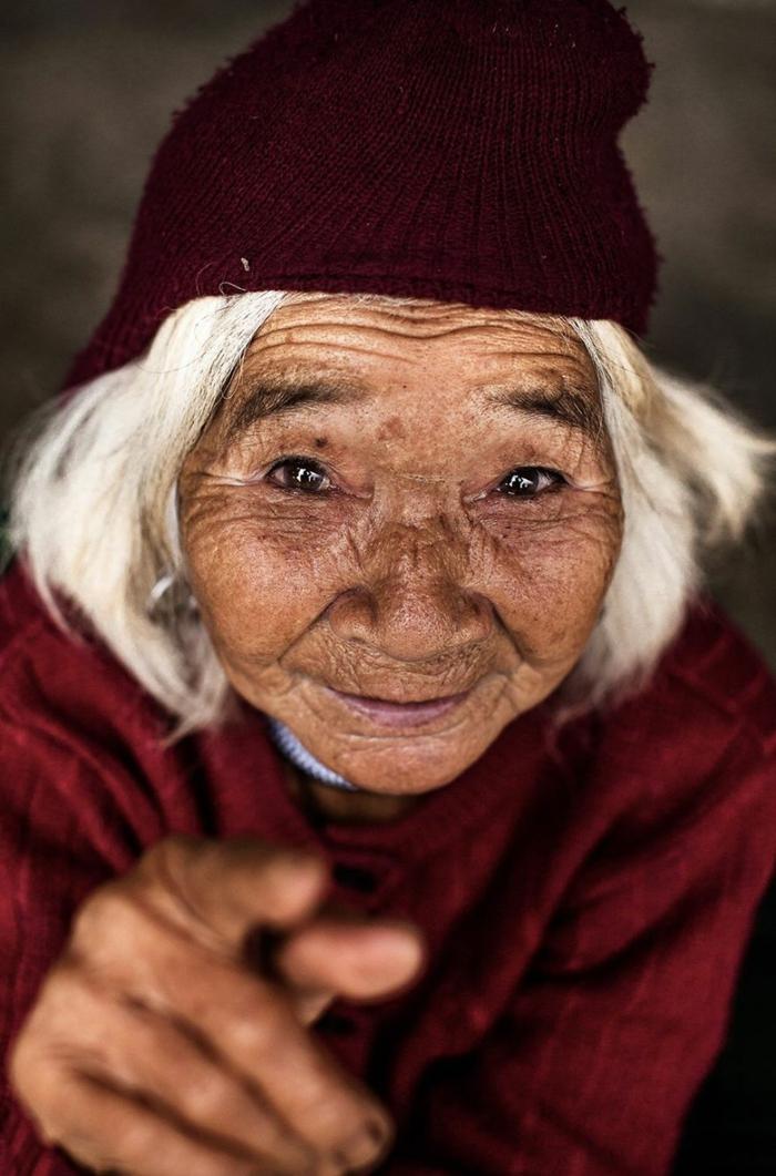 Augenfarbe Bedeutung portait afrikanische mongol