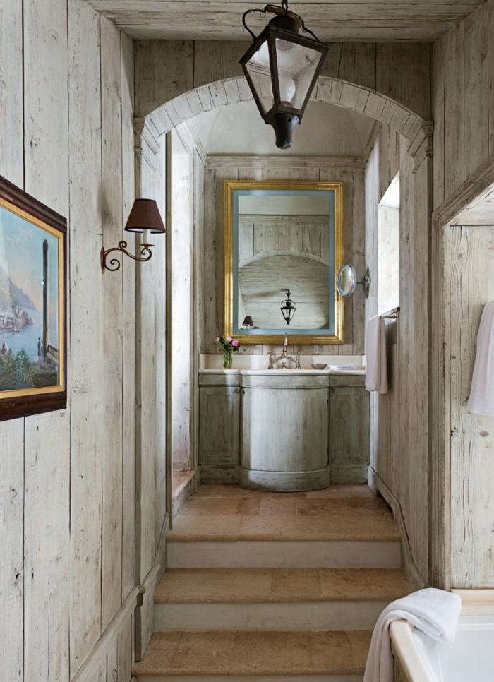 Badezimmer Ideen Fr Eine Rustikale