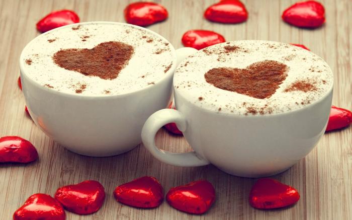 Bester Kaffeevollautomat  cappuccino herz