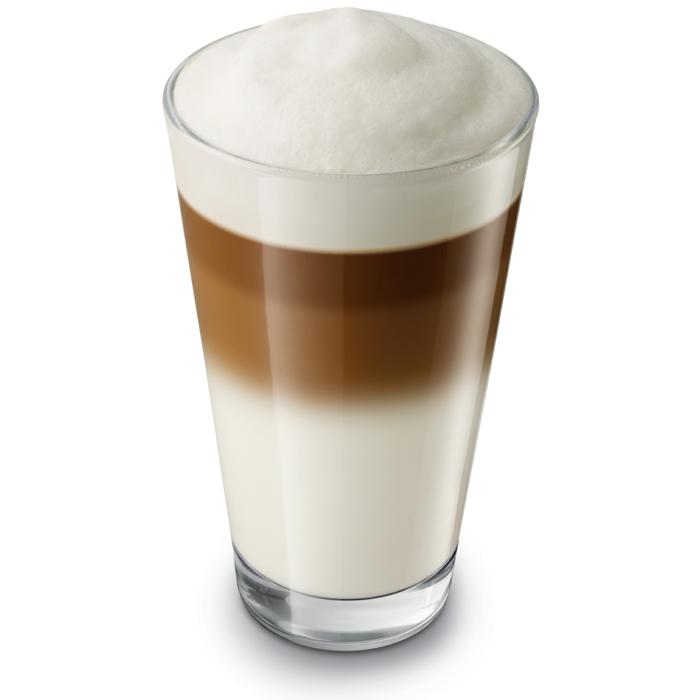 Bester Kaffeevollautomat  latte stock