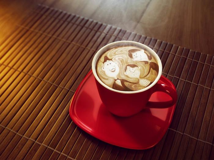 Bester Kaffeevollautomat schaum kaffee art