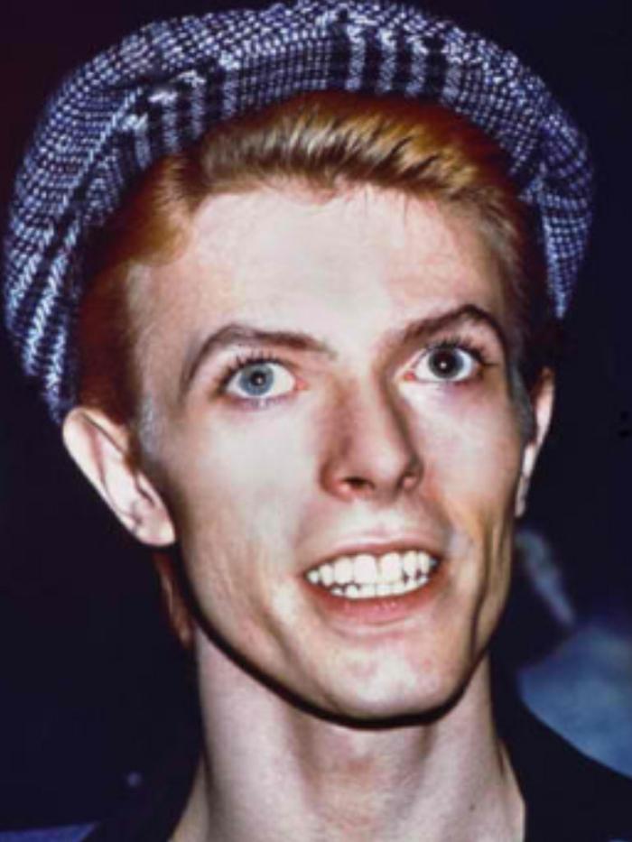 David Bowie Augen altes bild